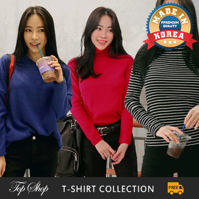 [SWEET BUNNY ]?Free shipping!!!?KOREA MEGA HIT 88% OFF? [Top Shop] women fashion Korean fashion Plus Deals for only S$69 instead of S$0