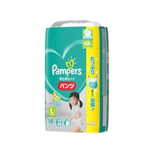 Pampers Diaper Quiet Care Ultra Jumbo L 174 sheets (58 sheets × 3 sets) shipped from Japan