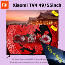 Xiaomi TV 4 49inch 55inch Ultrathin Liquid Crystal TV Mi TV 4  55 Ultra Thin 4.9mm Bezel-less Design