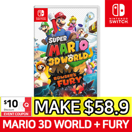 [Nintendo Switch] Super Mario 3D World + Bowsers Fury Game Title ★