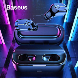 Baseus★QCY Bluetooth 5.0 True Wireless Bluetooth Earphone Earbud Headphone Ear Bud Buds Phone
