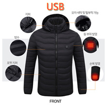 Hot Battery USB Carbon Surface Heating Clothes