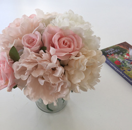 Fake Flowers (lovely Wedding Bouquet)