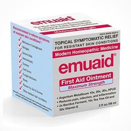 emuaid First Aid Ointment (Maximum Strength) (Argentum Metallicum) (2 fl oz) natural pain relief