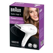 Braun Hair Dryer Satin Hair 1 HD180 1800W Ultra Light