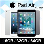 Apple iPad Air / 9.7 inch / WIFI+Cellular / 64GB / 128GB / Apple A7 / iOS 11 / Refurbished set