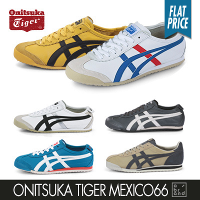 Onitsuka Tiger★SUPER SALE★ Onitsuka Tiger Mexico66 Simply Women Men Casual  Sneakers Comfort Shoes Original Asics