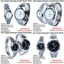 jam tangan SKO  Stainless Couple