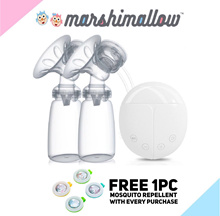 Best Selling! Real Bubee Portable Double Breast Pump | Cold Heat Pad | 3 in 1 Steriliser