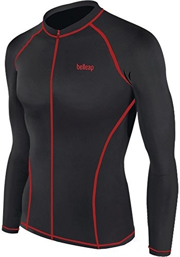 028afa4d2e New Surf Summer Beach Full Zip-up Rash Guard Men Long Sleeve Top Swimwear  Swimsuit