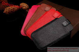 Genuine Leather Pouch For iPhone 7/7 Plus/6/6S/6 Plus/6S Plus     21455