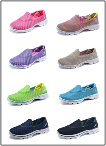 Skechers shoes walk shoes mesh Beanie the summer shoe lazy a pedal sets foot shoes men shoes sneaker
