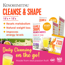 Kinohimitsu Cleanse n Shape Smoothie (2 Boxes Special) *Slimming * Detox * Cleanse*