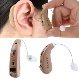 Rechargeable Mini Touching Tone In Digital Hearing Aid Sound Amplifier