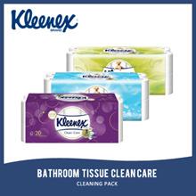 KLEENEX BATHROOM TISSUE CLEAN CARE 20 ROLL