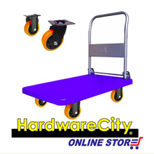 HWC Heavy Duty Hand Plastic Trolley 150kg Load