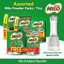 [[Free Mayer Blender]] Milo Powder ** Mix and Match  Buy 2 get free Mayer Blender