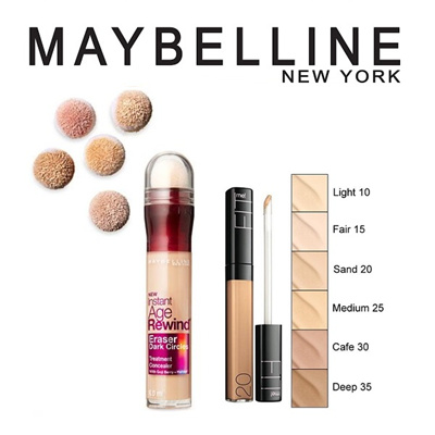 how to open maybelline age rewind concealer