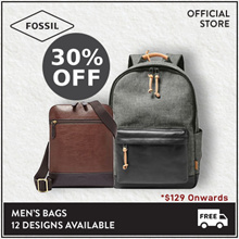 [FOSSIL OFFICIAL STORE] Men Bags