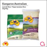 [Chip Seng Impex] Kangaroo -  Low GI Rice 2KG / Topaz Jasmine Rice 5KG ! QUALITY RICE!