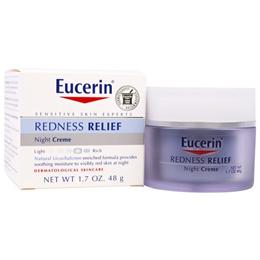 Eucerin Redness Relief Dermatological Skincare Night Creme 1.7 oz (48 g)