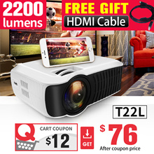 NEW!!🌟T22L  🌟 T23K  PROJECTOR  🌟 films.TV.xiaomi The Cheapest 1080P Portable.