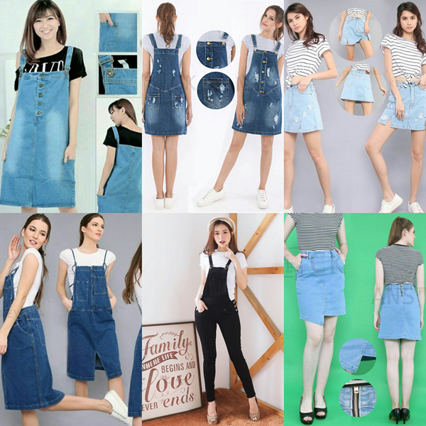 NEW ARRIVAL-BEST SELLER- JUMPSUIT-OVERALL DRESS-SKIRT- GOOD QUALITY Deals for only Rp119.000 instead of Rp119.000
