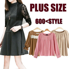 【SPECIAL  PROMO PRICE !!】New Plus Size ! S-7XL New Fashion Blouses/T-shirt/Dress/Pants ★ FlatShipping ★★