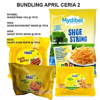 Bundling april ceria 2