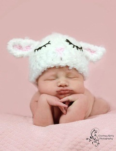 Baby Crochet Beanies/hat for Photo-shooting