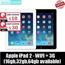 Refurbished Apple iPad 2 | 3G+Wifi | 16GB / 32GB / 64GB | 90%New / 30 days warranty