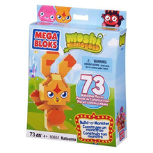 Moshi Monsters Mega Bloks BuildaMonster Set #80651 Katsuma