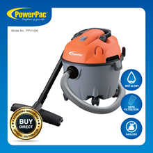 PowerPac Wet and Dry Vacuum Cleaner 1200 Watts (PPV1500)