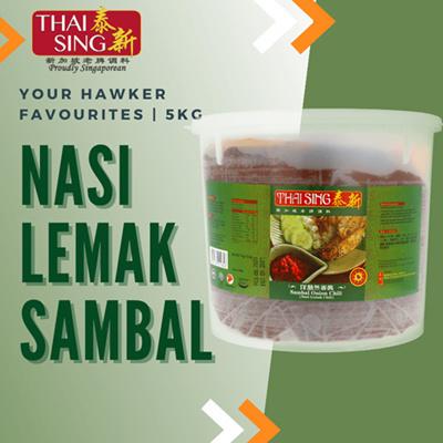 Nasi Lemak Sambal Chilli - 5kg