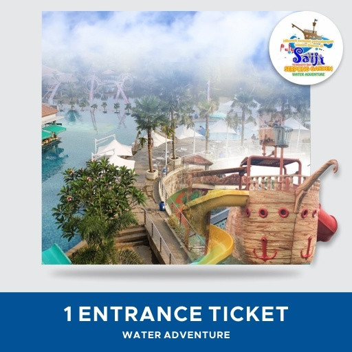 [OTHERS] Pulo Saiji Water Adventure/ ALL DAY Entrace Ticket/ Paket A Or B/ Pilih Option Deals for only Rp50.000 instead of Rp50.000