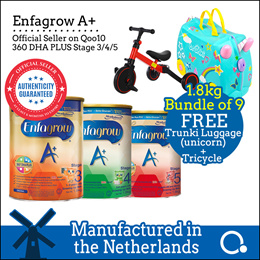 [Enfagrow A+] [BUNDLE OF 9] Stage 3/4/5 1.8kg *USE CART COUPON*