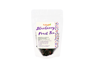 FULLEAF TEA STOREBlueberry Fruit Tea 100g / Flavoring Tea / No Sugar added