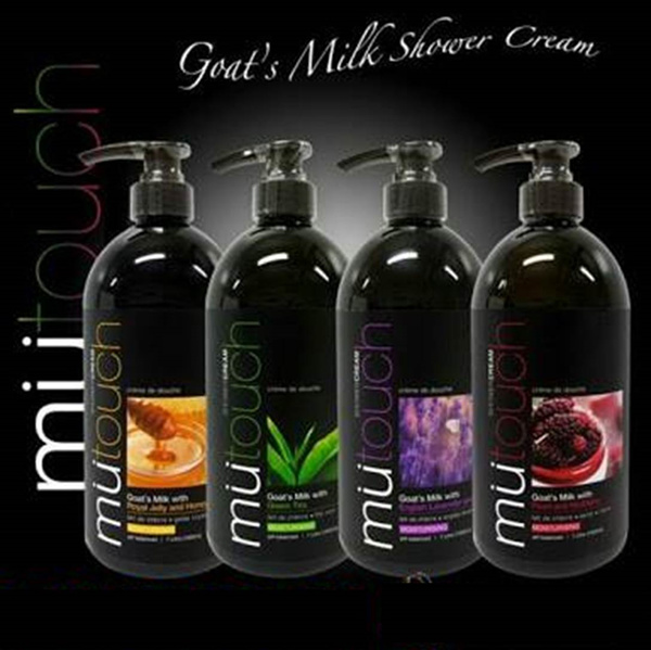 MUTOUCH Goat Milk Shower Cream Pump Botol 1000ml PWP Refill 800ml Deals for only Rp50.000 instead of Rp50.000