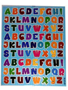 Stickers Alphabets ABC X 5