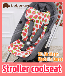 Bebenuvo Premium 3D Air Mesh Cool Seat / Stroller cushion / CarSeat  Liner / ★KOREA Best★