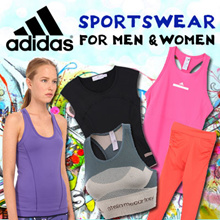 ADIDAS SPORTSWEAR FOR MEN AND WOMEN [100% AUTHENTIC]