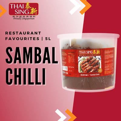 Sambal Chilli - 5kg