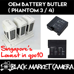 [BMC] [Photography Accessory] Phantom 3 / 4 Battery Butler | DJI Phantom 3 Charger Accessories | Drone | DJI Brand [Time Sales]