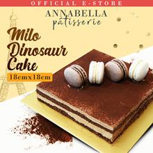 Milo Dinosaur Cake 18cm x 18xm