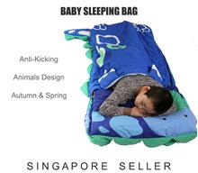 Baby Sleeping Bag Animal Anti-Kicking Blanket Warmer
