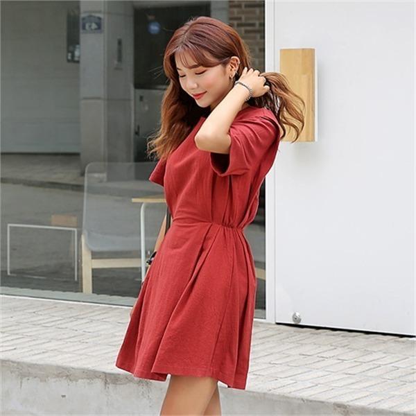 キキ・ショルダーOPS new ノースリーブ/トップワンピース/ワンピース/韓国ファッション