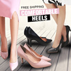 ❤CNY HOT SALE!!!❤FREE SHIPPING!❤ NEW MODEL AND COLOUR UPDATE❤TODAY SALE ONLY! ❤UNIQUE HEELS! COMFORTABLE HEELS WITH SUPER AFFORDABLE PRICE!❤ GRAB 1 TODAY!❤