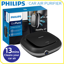 Car Air Purifier GoPure Compact 100 High Cleaning Efficiency |1-yr local warranty