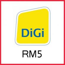 DIGI TOP UP RM5 (DIRECT)