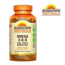 Sundown Naturals Triple Omega 3-6-9 200 tablets